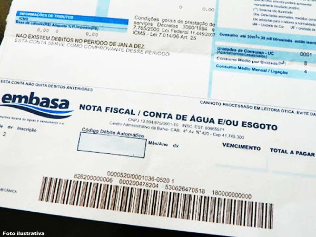 Embasa queria reajuste de 15,08%, mas não cumpriu metas; conta vai ...