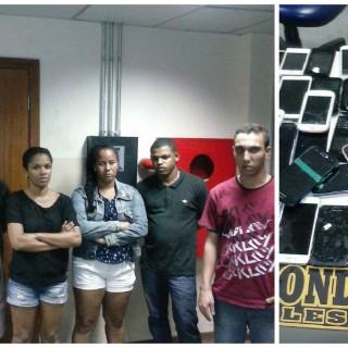 Grupo preso pela Rondesp Leste