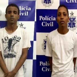 Edson da Silva Rocha e André Luiz Rocha da Silva.