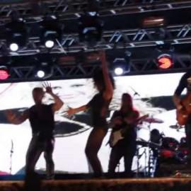 chimbinha no palco