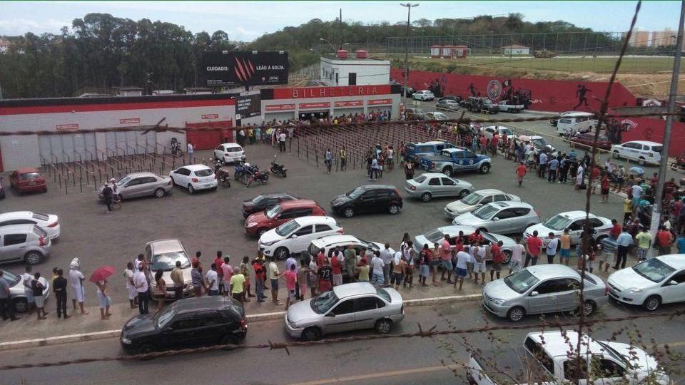 Vitória x Luverdense: Mais de 19 mil ingressos vendidos