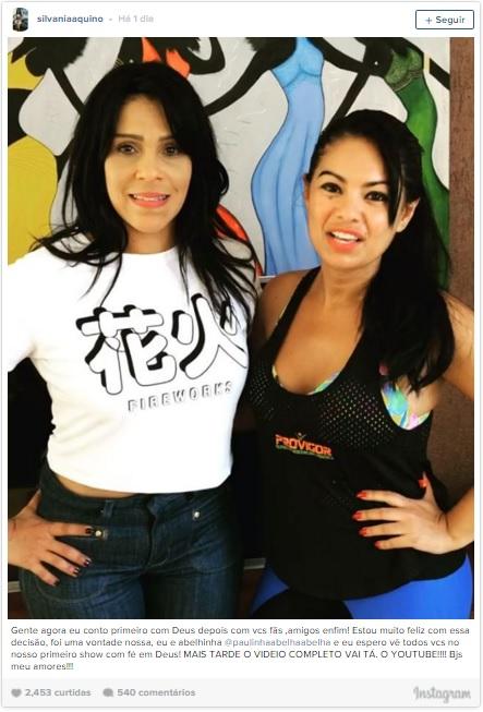 bee9c59ed0f716 Cantoras deixam a 'Calcinha Preta' e anunciam parceria com Diau ...