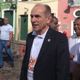 Ministro da saúde, Marcelo Castro. Foto Juliana Almirante.