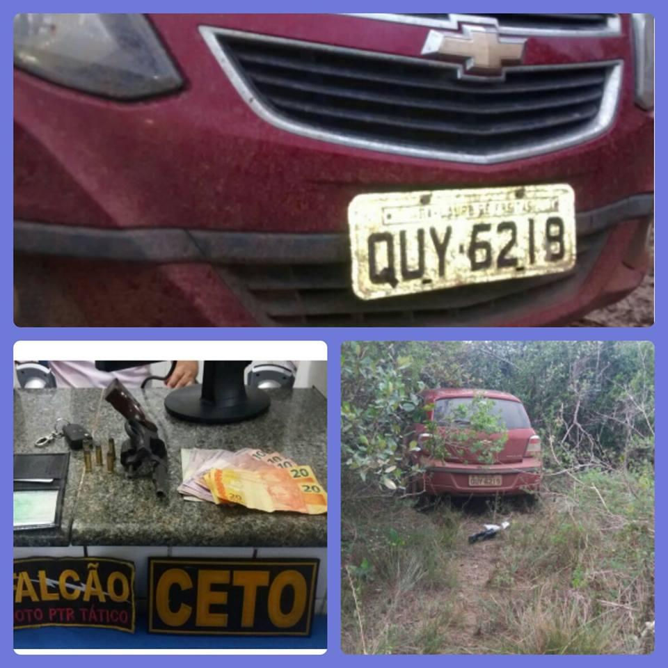 Trio é flagrado após assalto a posto de combustíveis em Inhambupe - Bahia No Ar! (Blogue)