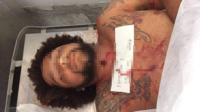 """O traficante, conhecido como """"Coroa"""", chegou a ser socorrido ao Hospital Menandro de Farias, mas não resistiu e morreu."""
