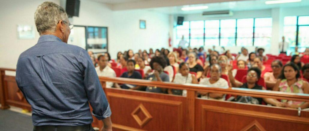 A jornada pedagógica 2017 em Simões Filho será dia 2 e 3 de março.