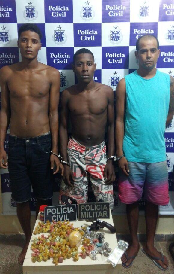 Suspeitos de matar policial militar são presos em Valença
