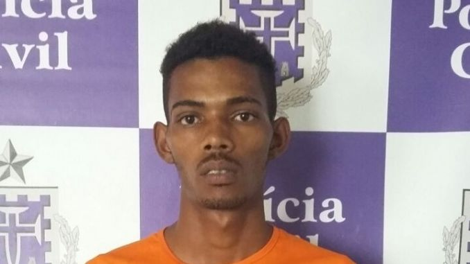 Erivan Oliveira Ferreira tentou fugir depois do crime, mas foi preso em flagrante na cidade de Feira de Santana.