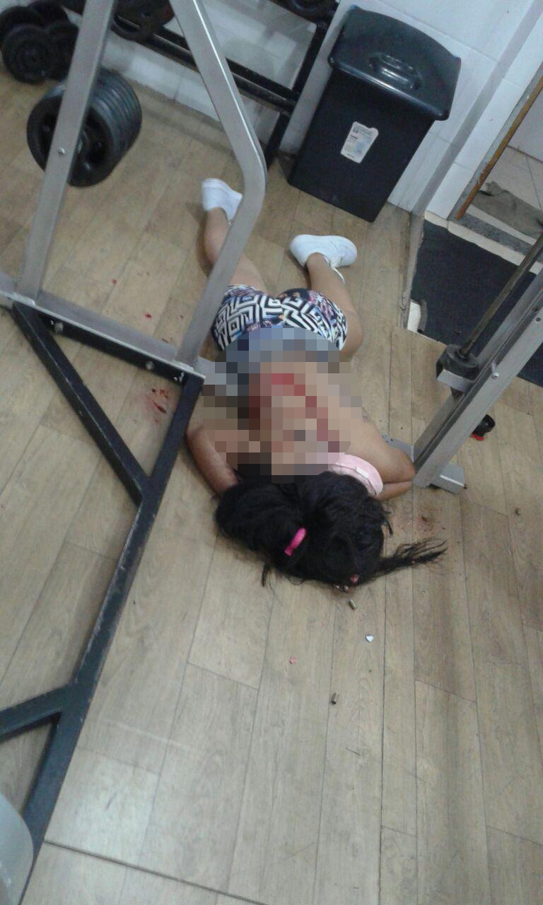 Resultado de imagem para Jovem é assassinada com 12 tiros dentro de academia