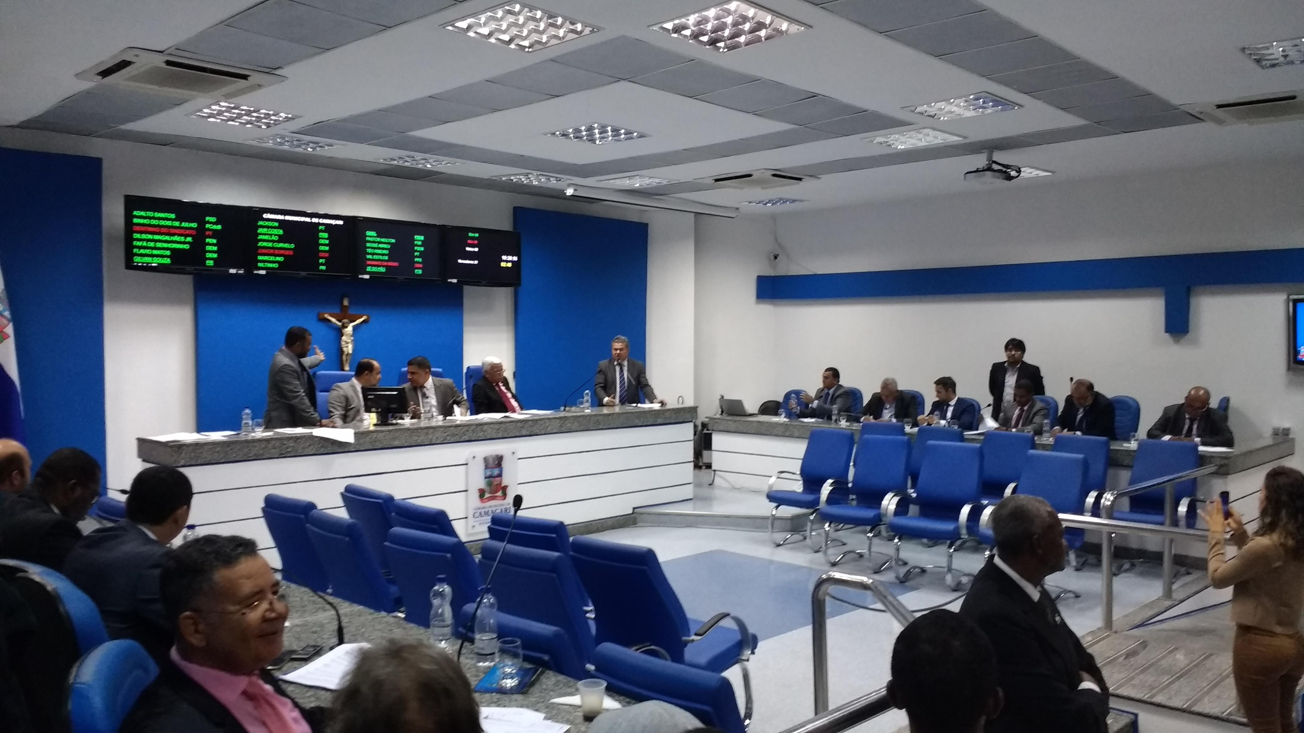 Camaçari: segurança, esporte e desemprego serão pautas de audiências públicas na Câmara