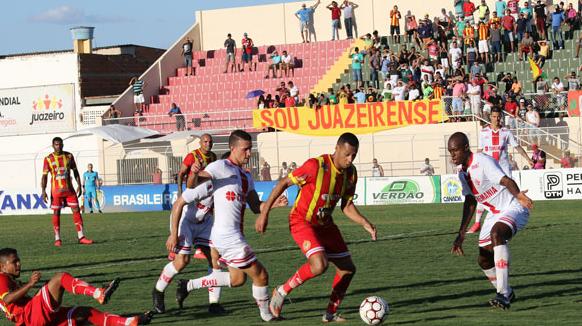 Resultado de imagem para Juazeirense vence América-RN por 3 a 0 e se aproxima da semifinal na Série D