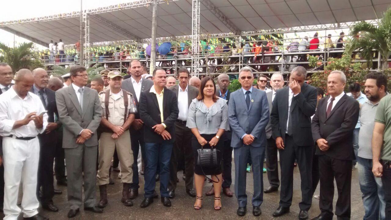 Dinha (PMDB) comemora participação popular no evento
