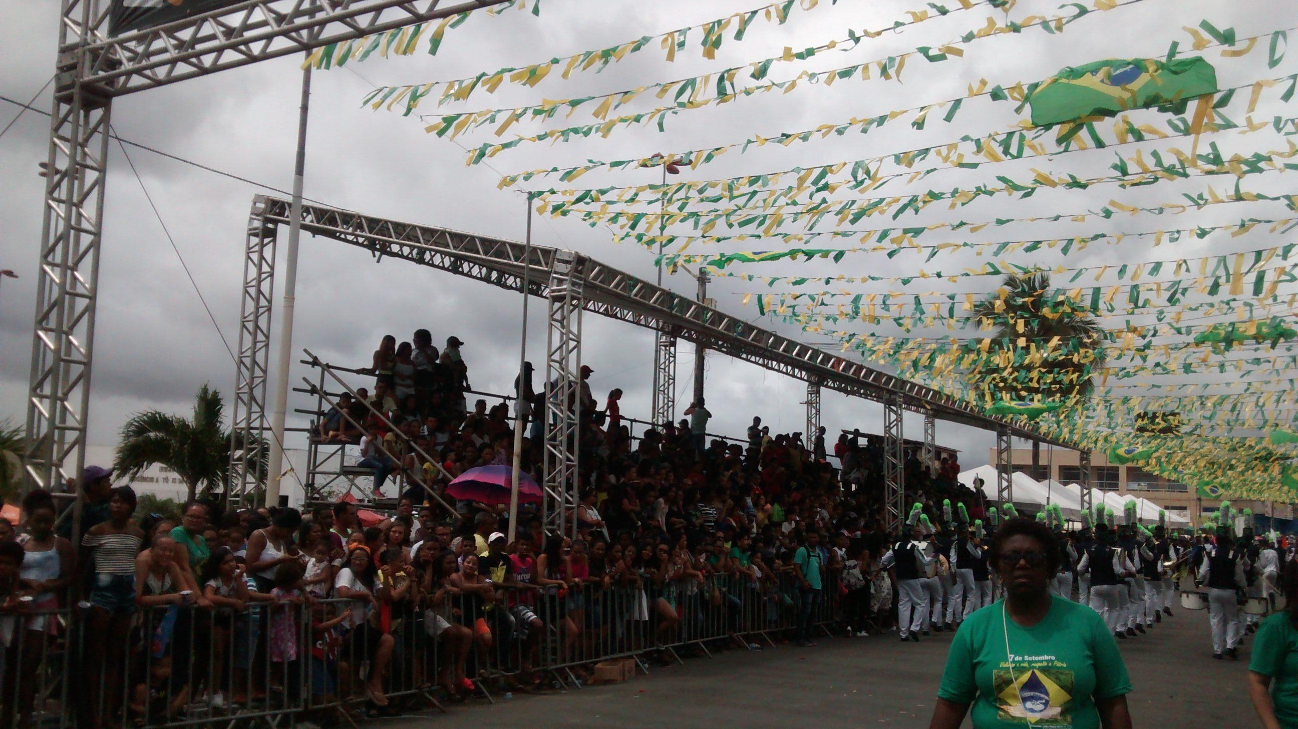 Prefeitura estima que 10 mil pessoas prestigiaram o Sete de Setembro