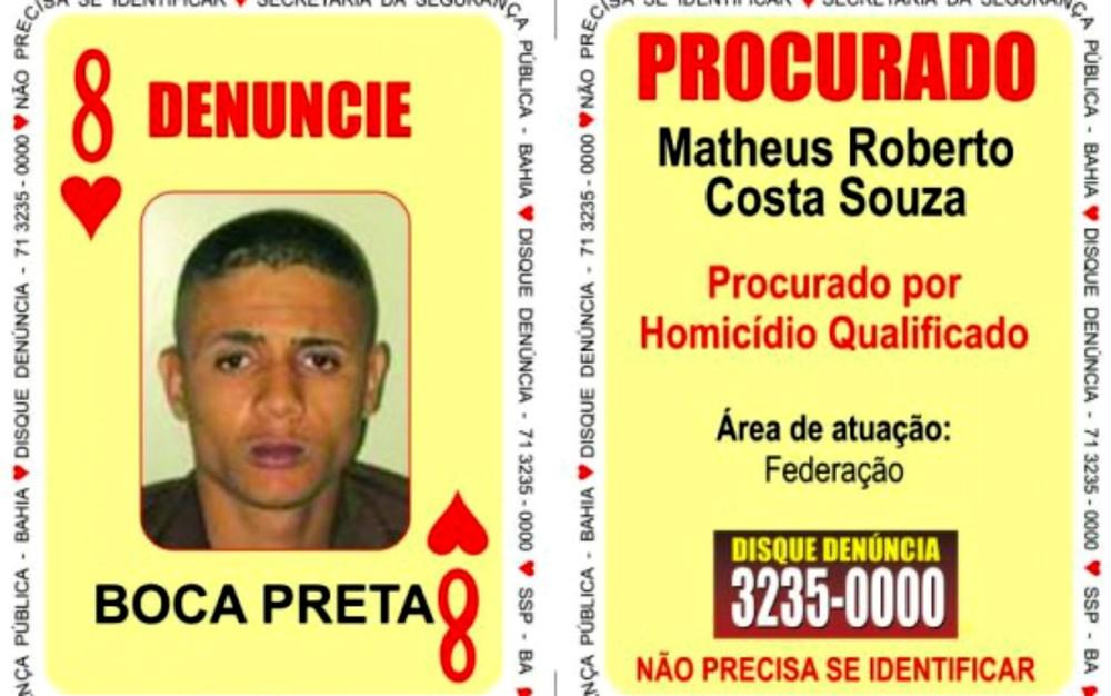 Integrante do Baralho do Crime suspeito de homicídio e tráfico é preso