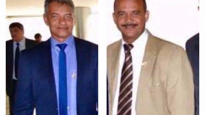 Prefeitos Dinha e Elinaldo