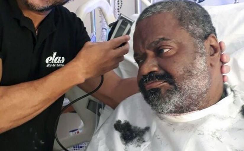 Arlindo Cruz é transferido de hospital para tratamento de reabilitação