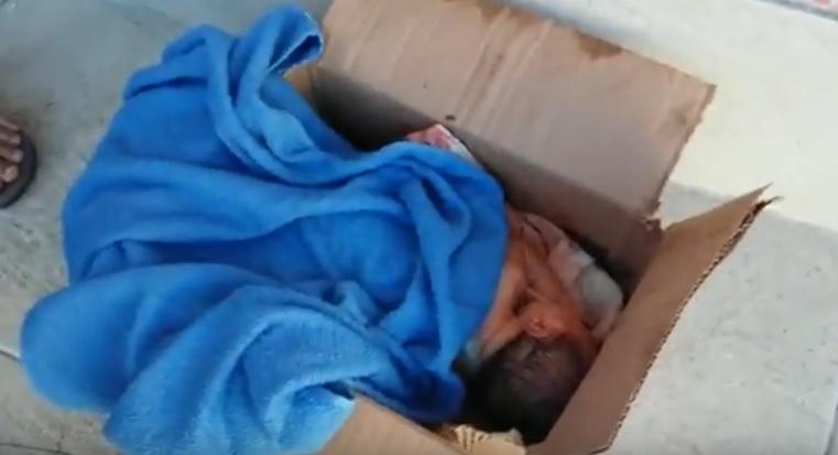 Bebê é encontrado dentro de lixo em Jauá: Veja Vídeo - BAHIA NO AR