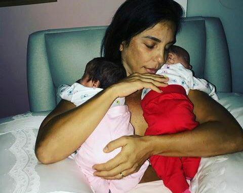 Ivete Sangalo encanta os fãs em nova foto com as filhas gêmeas