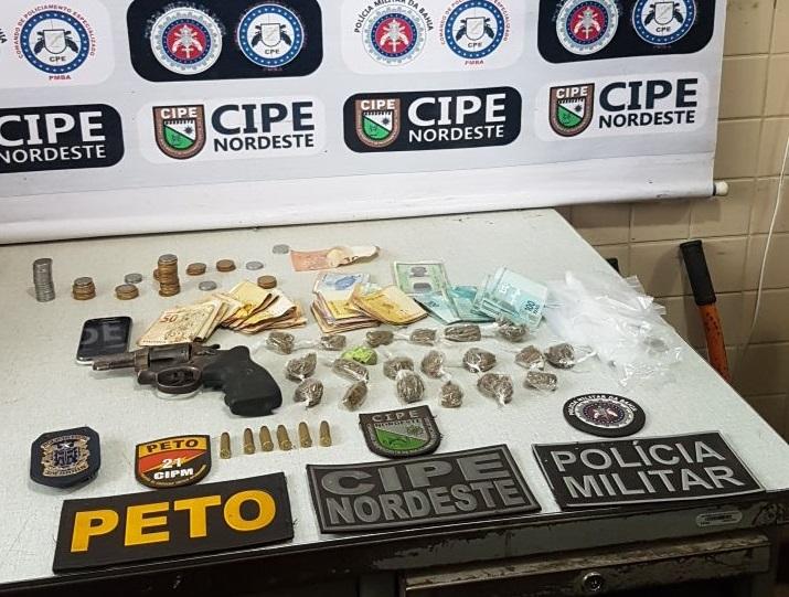 Operação conjunta prende homem e apreende R$ 5 mil reais nesta quinta (26)