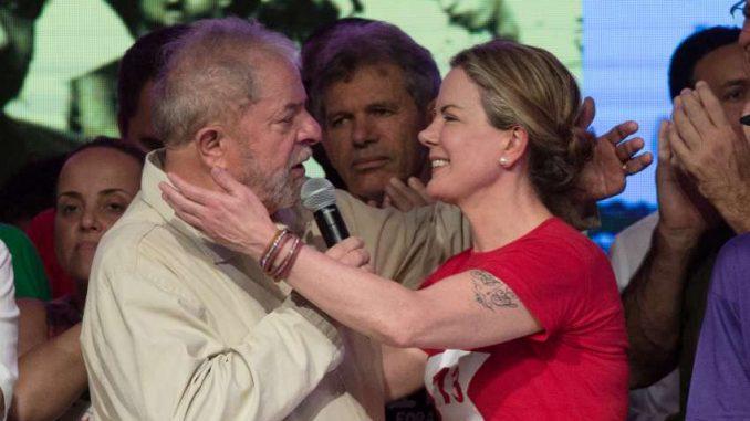 Carta de Lula a Gleisi Hoffmann