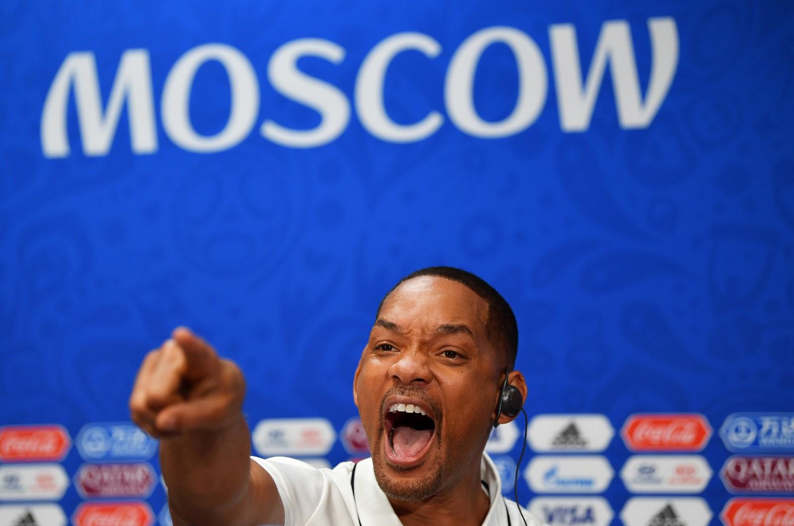 """Will Smith elogia Neymar e revela seu jogador preferido: """"Eu amo Cristiano Ronaldo"""""""