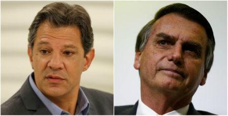 Veja como foi a votação de Bolsonaro e Haddad em Simões Filho