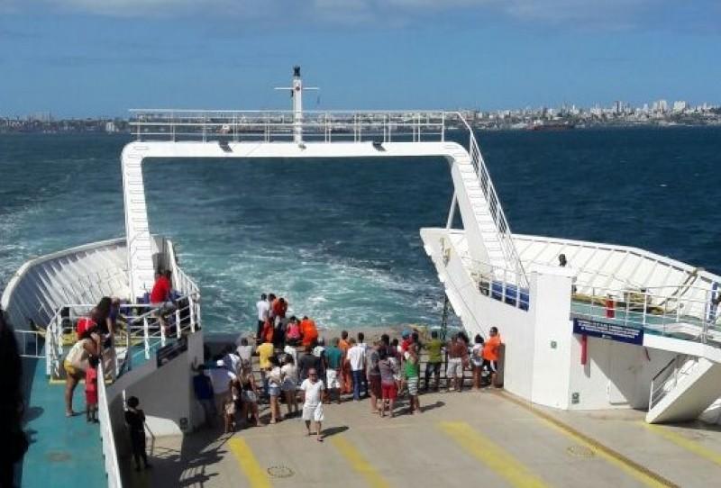 Ilha de Itaparica: mulher morre após passar mal dentro de ferry-boat