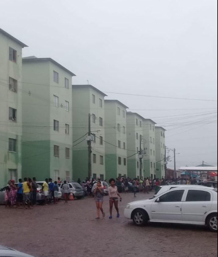 Morre 3ª vítima de incêndio em prédio de Feira de Santana