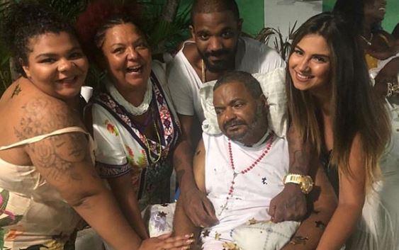 Família comemora e afirma que Arlindo Cruz está voltando a falar