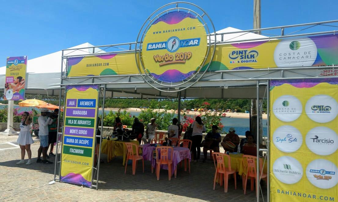 Bahia no Ar de Verão oferece serviços gratuitos aos moradores de Barra do Jacuípe