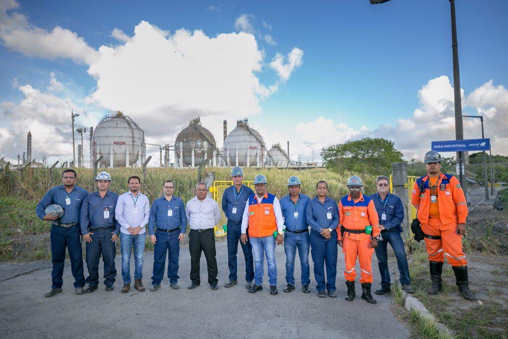 Representantes da Prefeitura visitam barragensem Camaçari