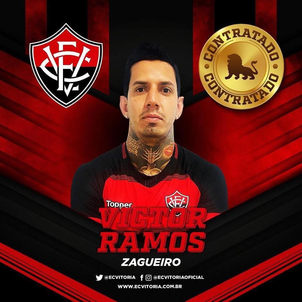 O xerife voltou: Vitória oficializa retorno de Victor Ramos