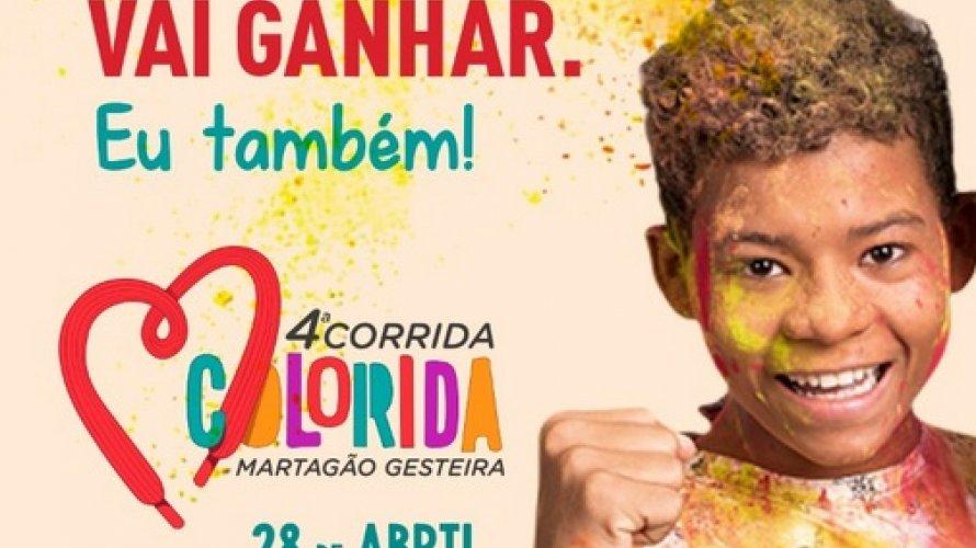 Corrida Colorida acontece dia 28 com renda revertida para o Martagão Gesteira
