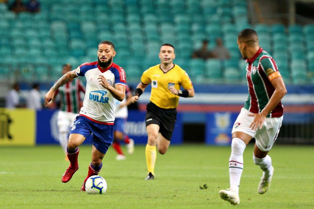 100% na Fonte: Bahia bate o Fluminense e encosta no G-4 do Brasileirão