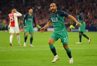Lucas marca três e coloca o Tottenham na final da Champions; veja os gols
