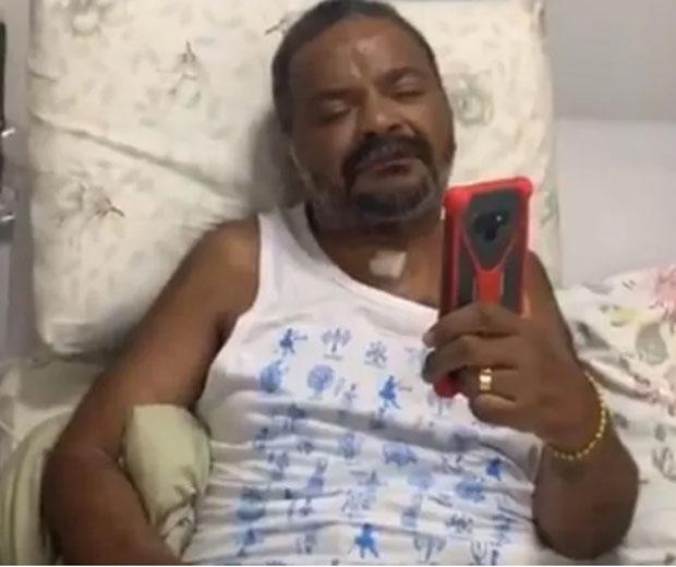 Arlindo Cruz é internado no CTI de clínica no Rio
