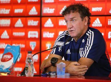 """Cuca elogia sua equipe, mas afirma que ficou """"frustrado"""" com o resultado"""