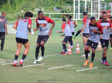 Com treino fechado, Vitória finaliza as atividades em Salvador antes de enfrentar o Atlético-GO