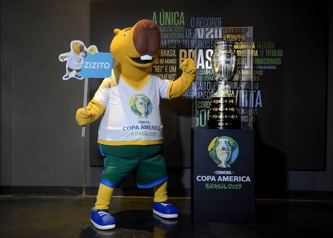 'Zizito' na área: Mascote da Copa América visita Salvador nesta quinta-feira