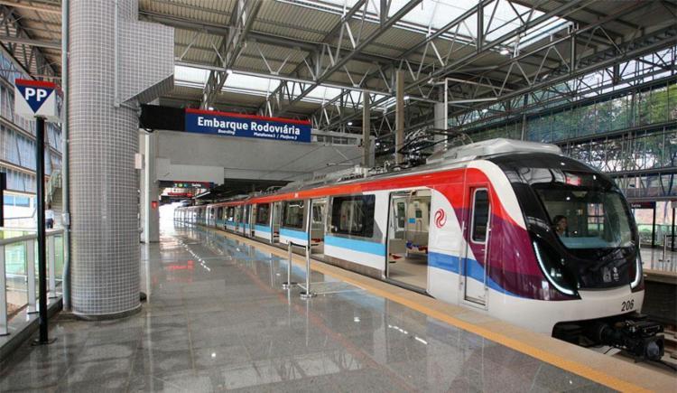 Metrô de Salvador opera com lentidão nesta manhã após ato de vandalismo