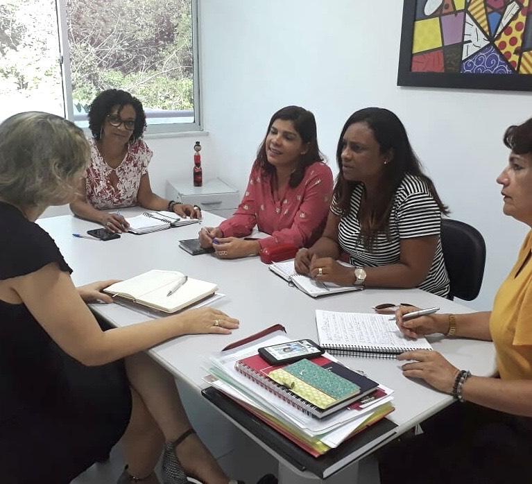 Ações de fortalecimento à rede de proteção às mulheres são realizadas em Simões Filho