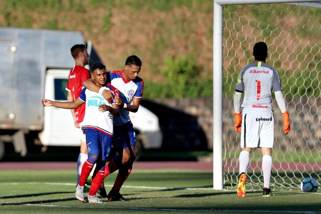 Bahia vence o Internacional na estreia do Campeonato Brasileiro de Aspirantes