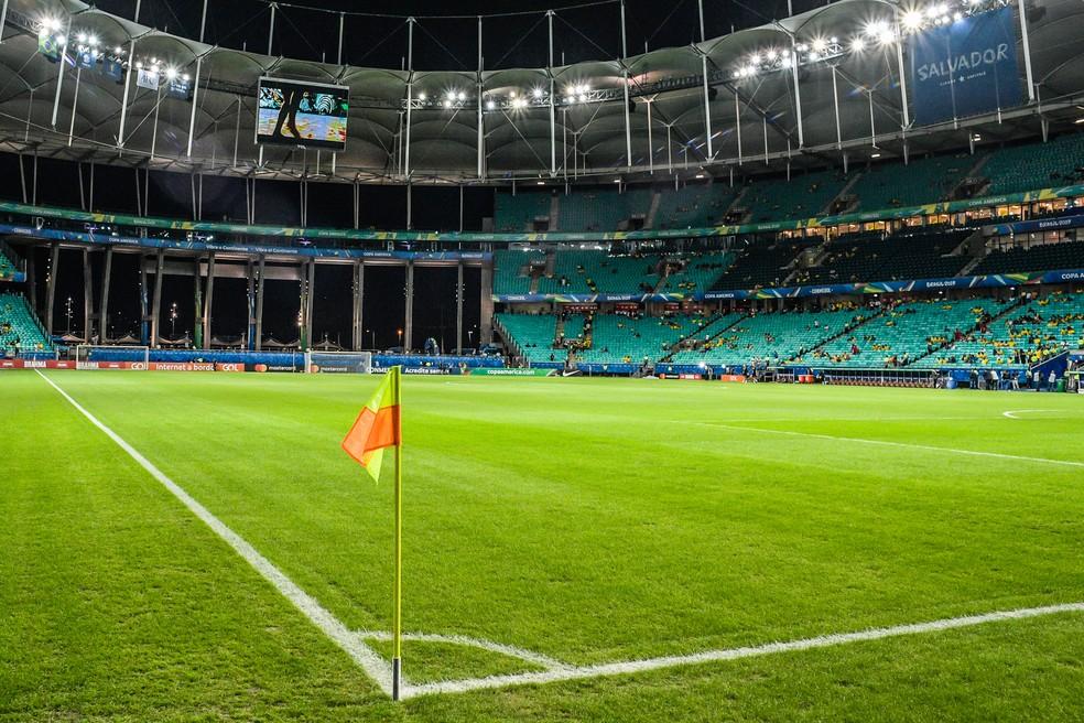 Arena Fonte Nova volta a ter público pequeno na Copa América