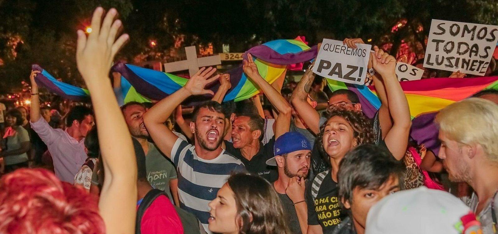 Homicídios de LGBTs mais que dobram em um ano na Bahia