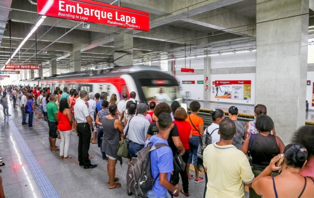 Metrô de Salvador vai funcionar nesta sexta (14), diz CCR Metrô