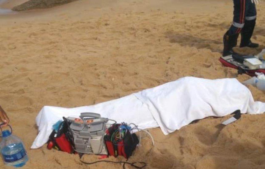 Turista morre afogado na praia de Arembepe, em Camaçari