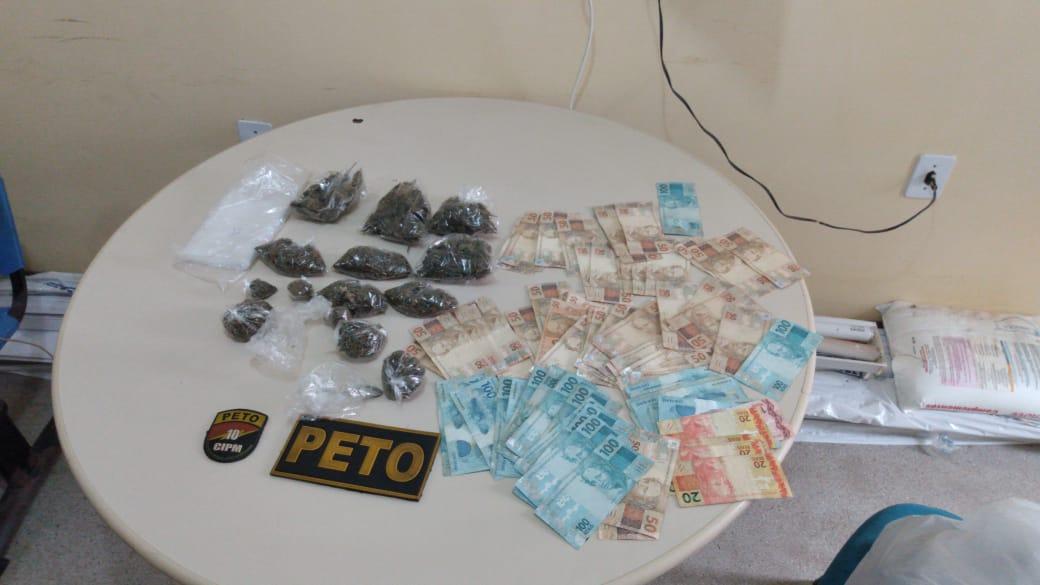 Drogas e armas são apreendidas em Candeias e São Sebastião do Passé