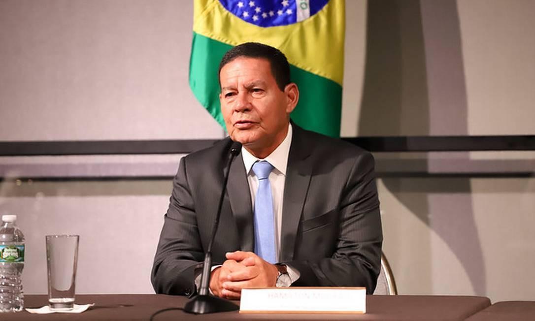 Segundo Mourão, Guerra econômica entre China e EUA afeta o Brasil
