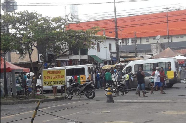 Simões Filho: homem é assassinado na frente do Mercado Municipal