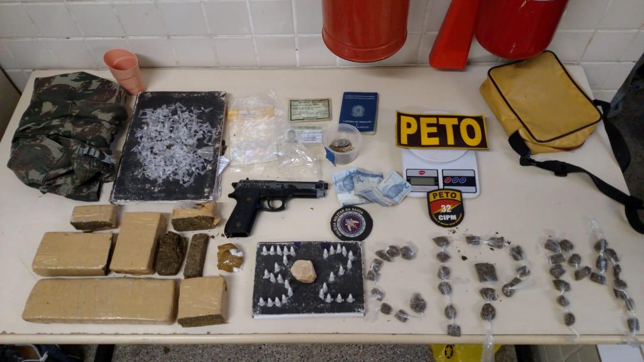 Quadrilha acusada de tráfico de drogas é localizada em Pojuca